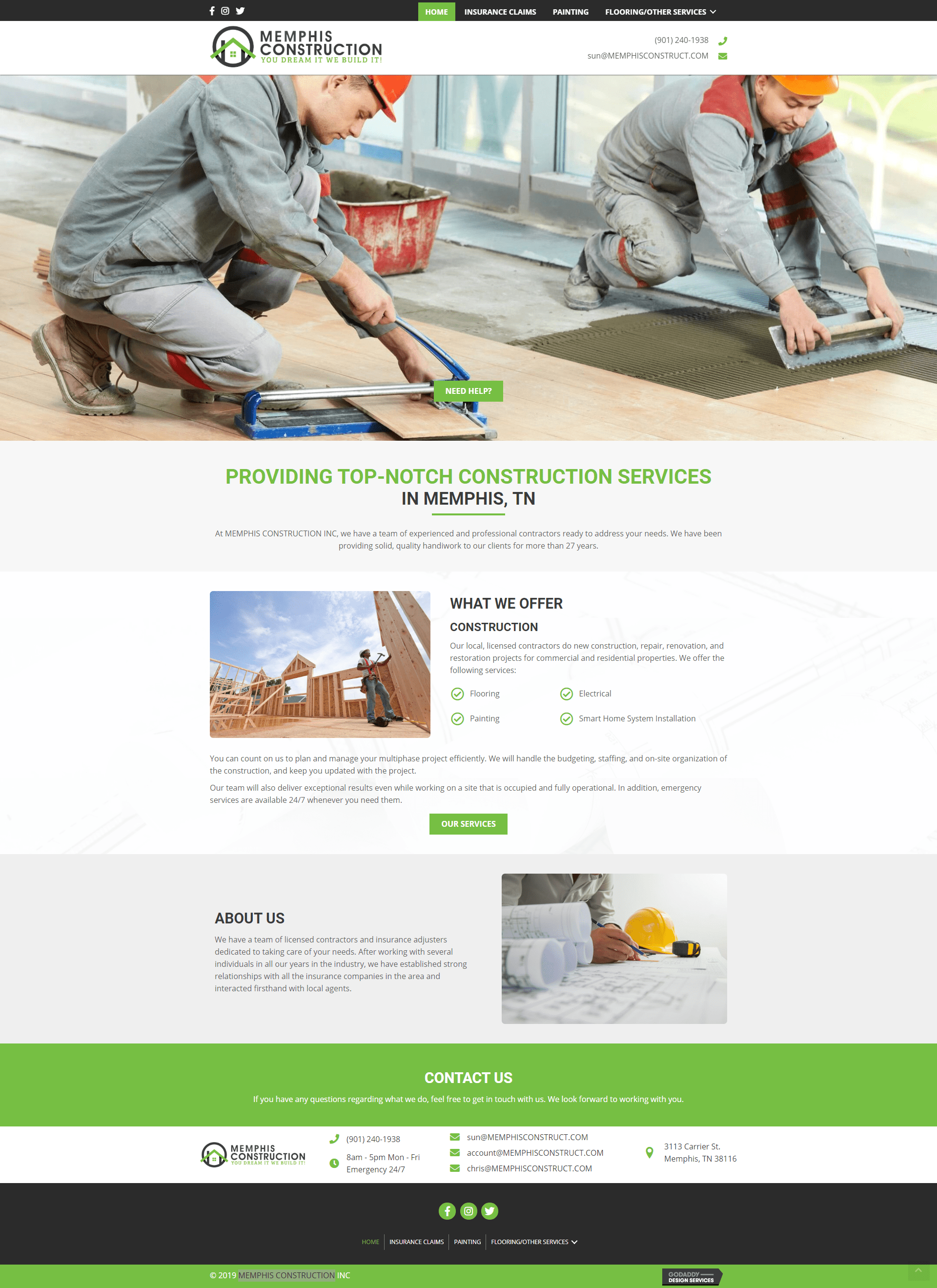 screencapture-Memphis Construction-desktop
