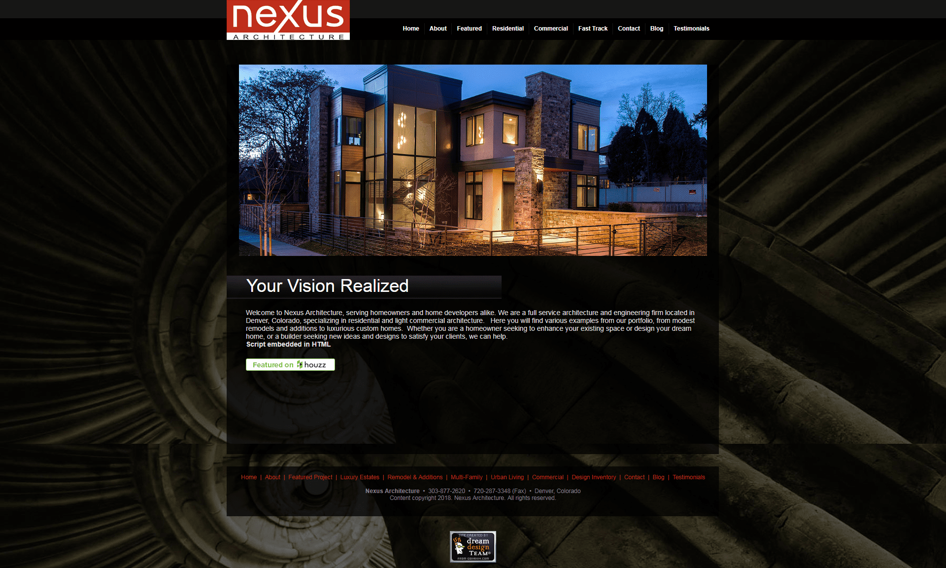 nexus - old site - v7