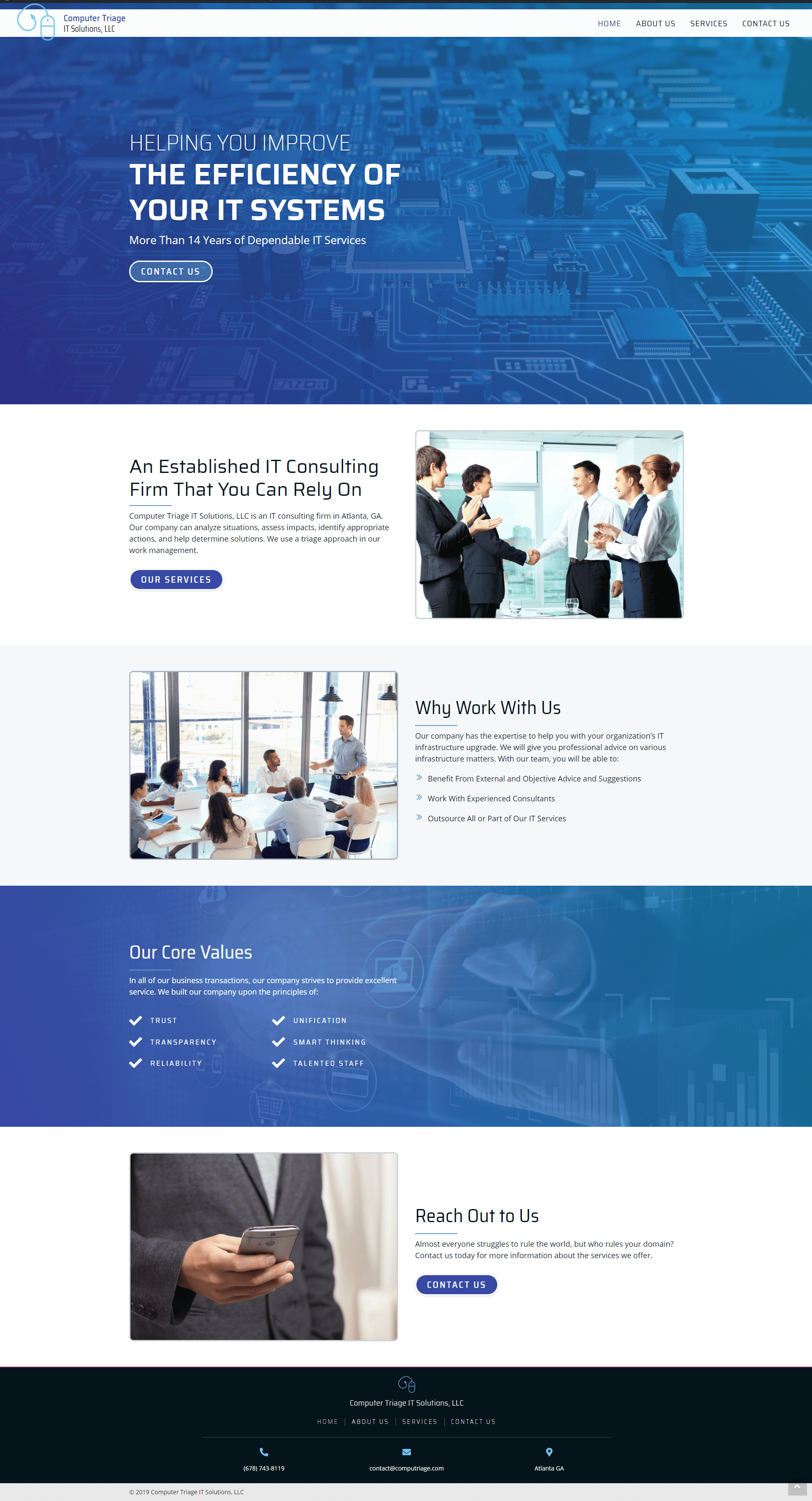 Computer Triage IT Solutions - desktop