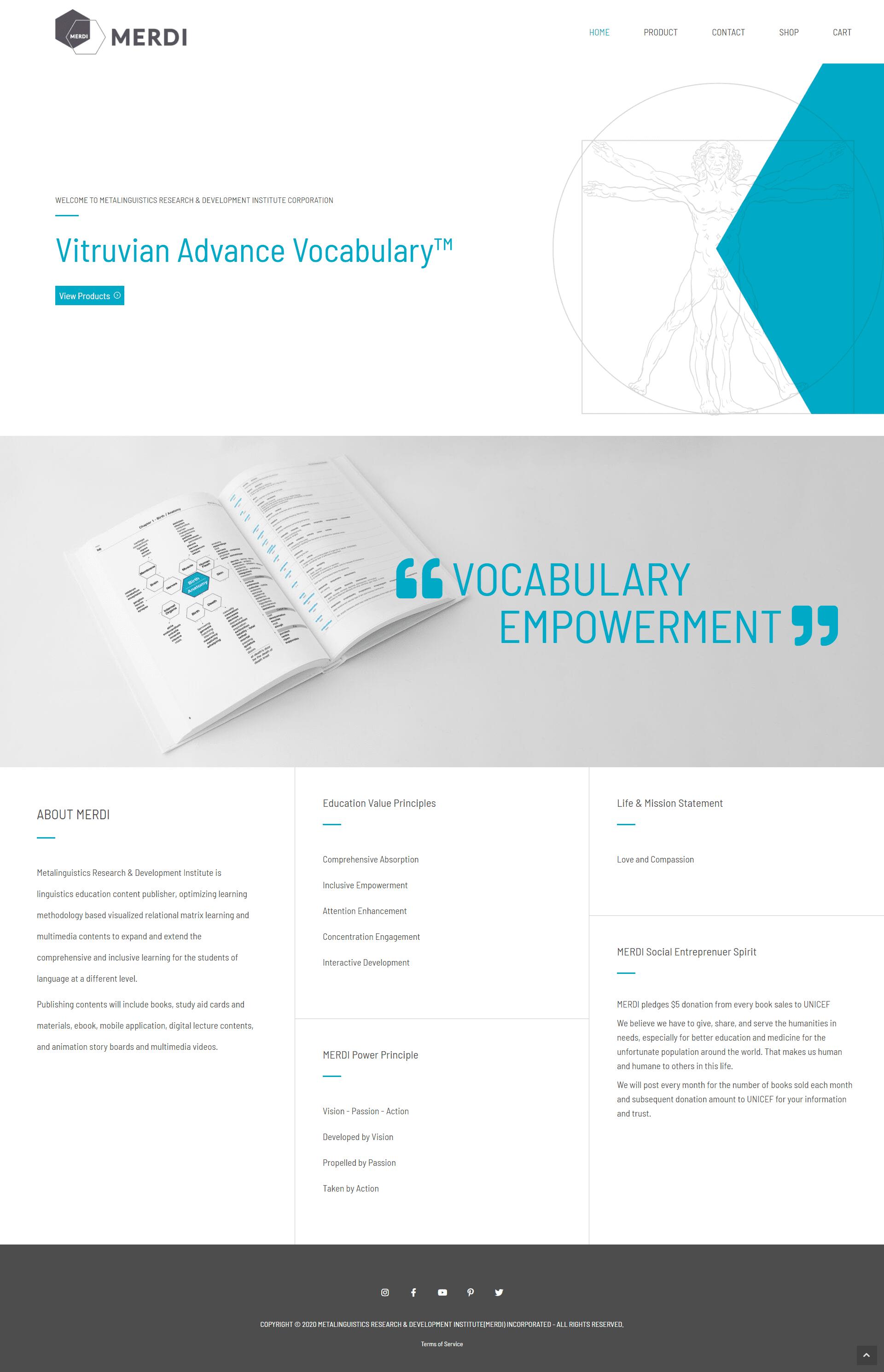 MERDI - desktop