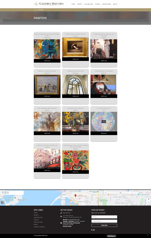 screencapture-Galleria Silecchia-painters