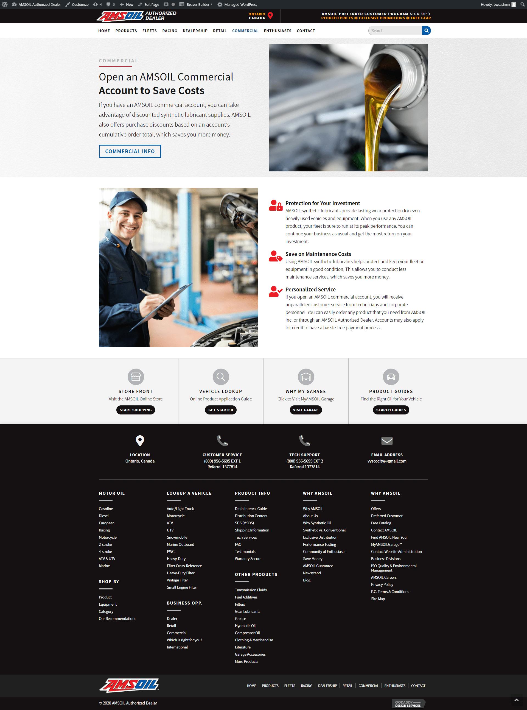 screencapture-amsoil dealer - commercial new site