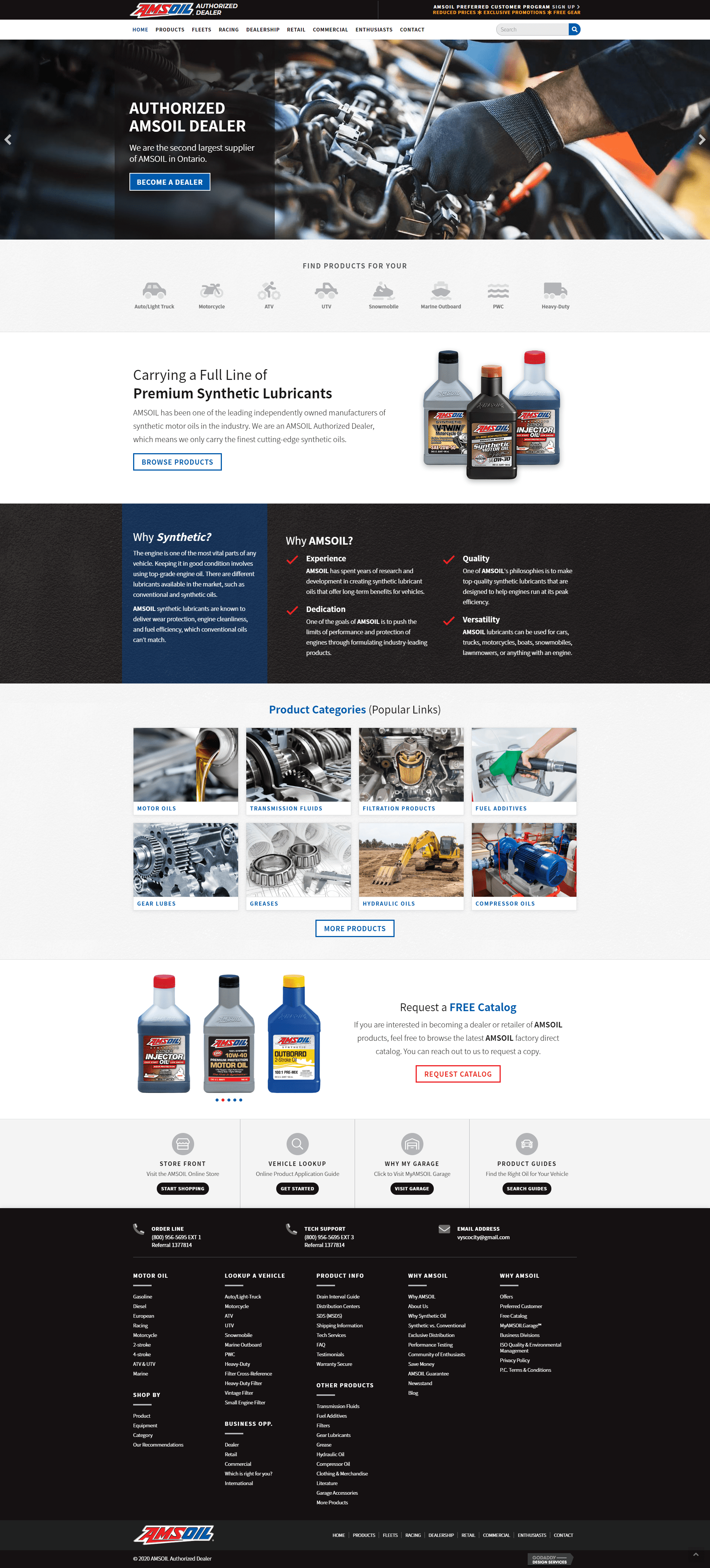 screencapture-amsoil dealer - homepage new site