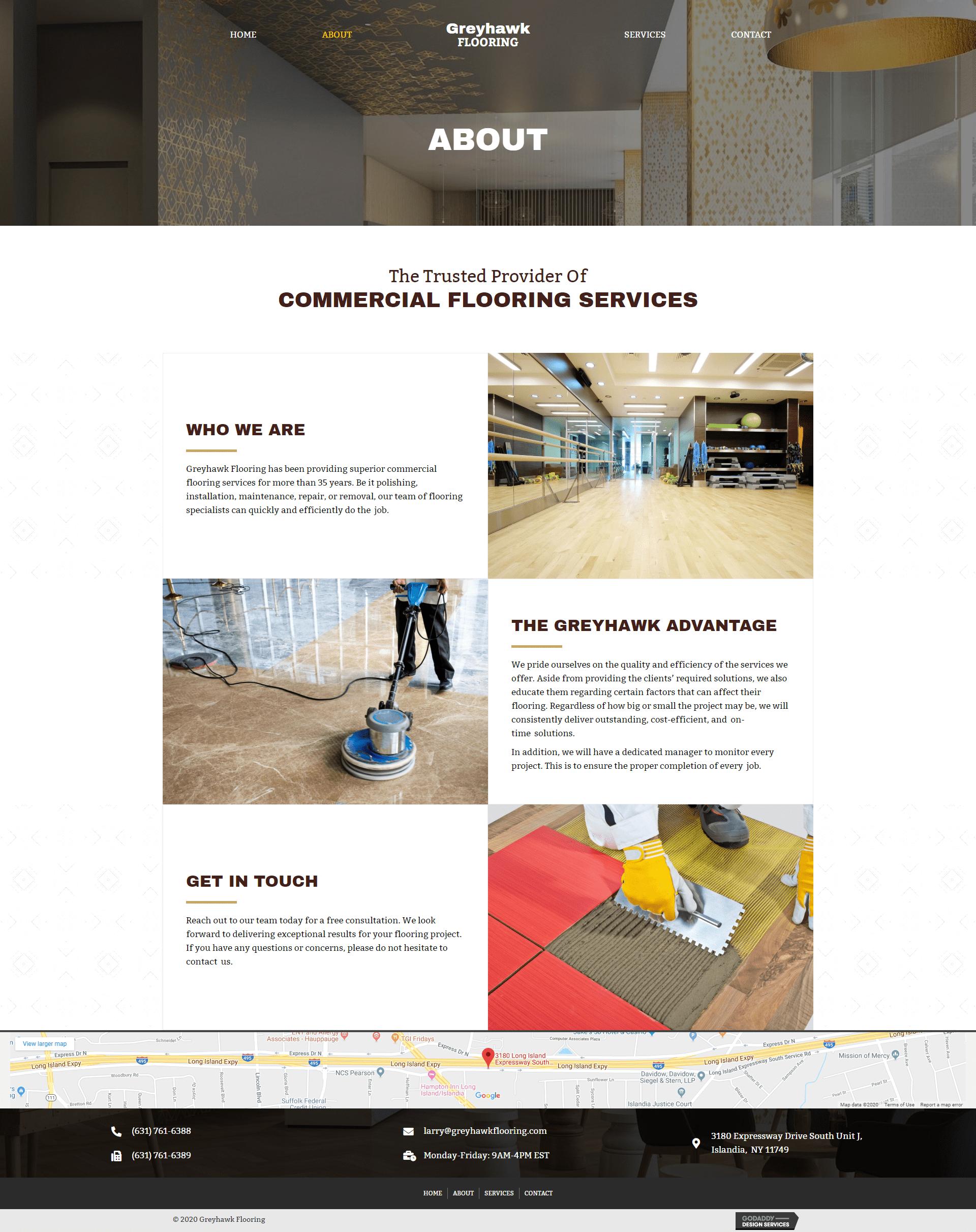 About - Greyhawk Flooring