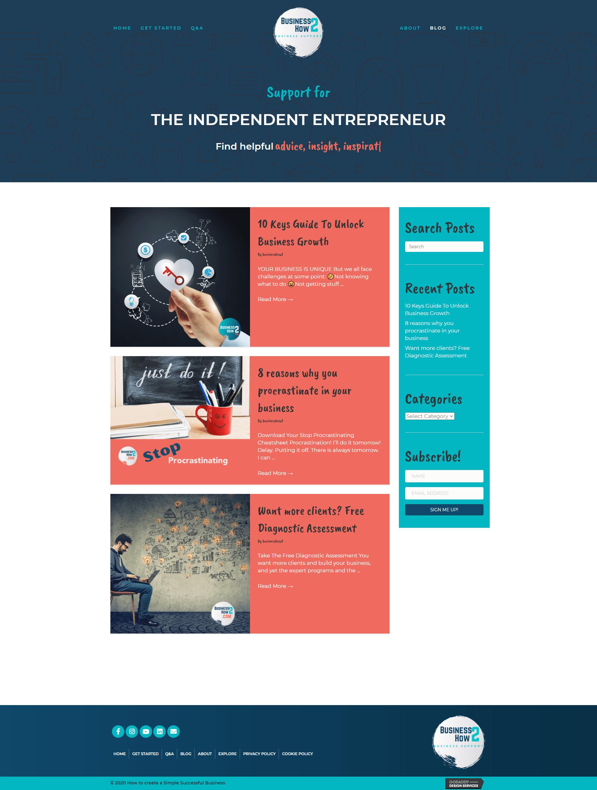 BusinessHow2 Blog