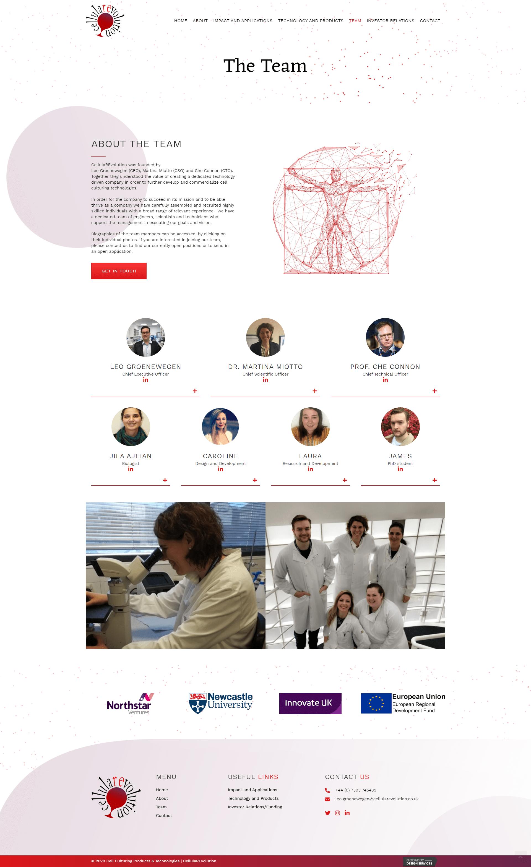 CellularRevolution Team Page
