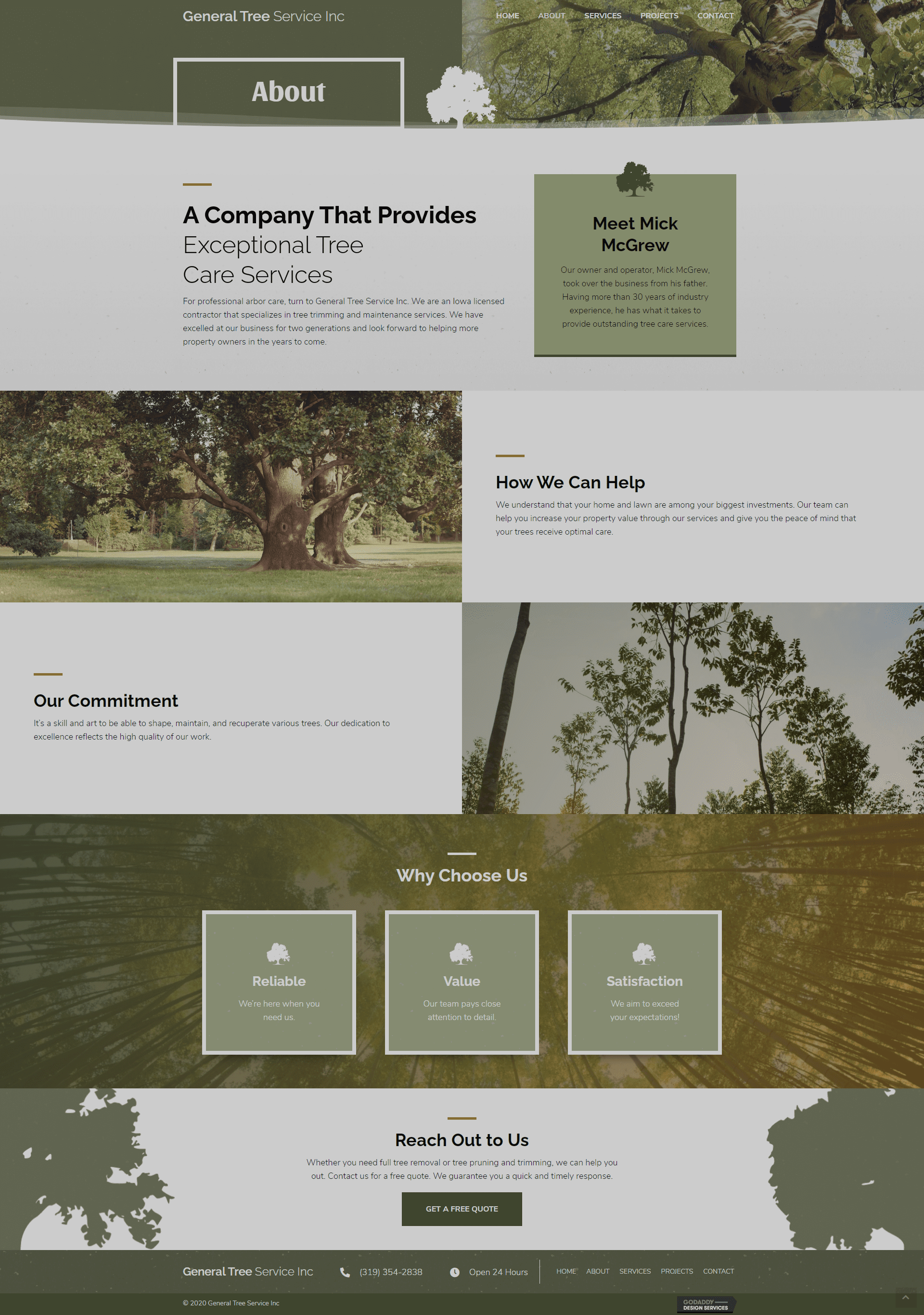 General Tree Service Inc About Page