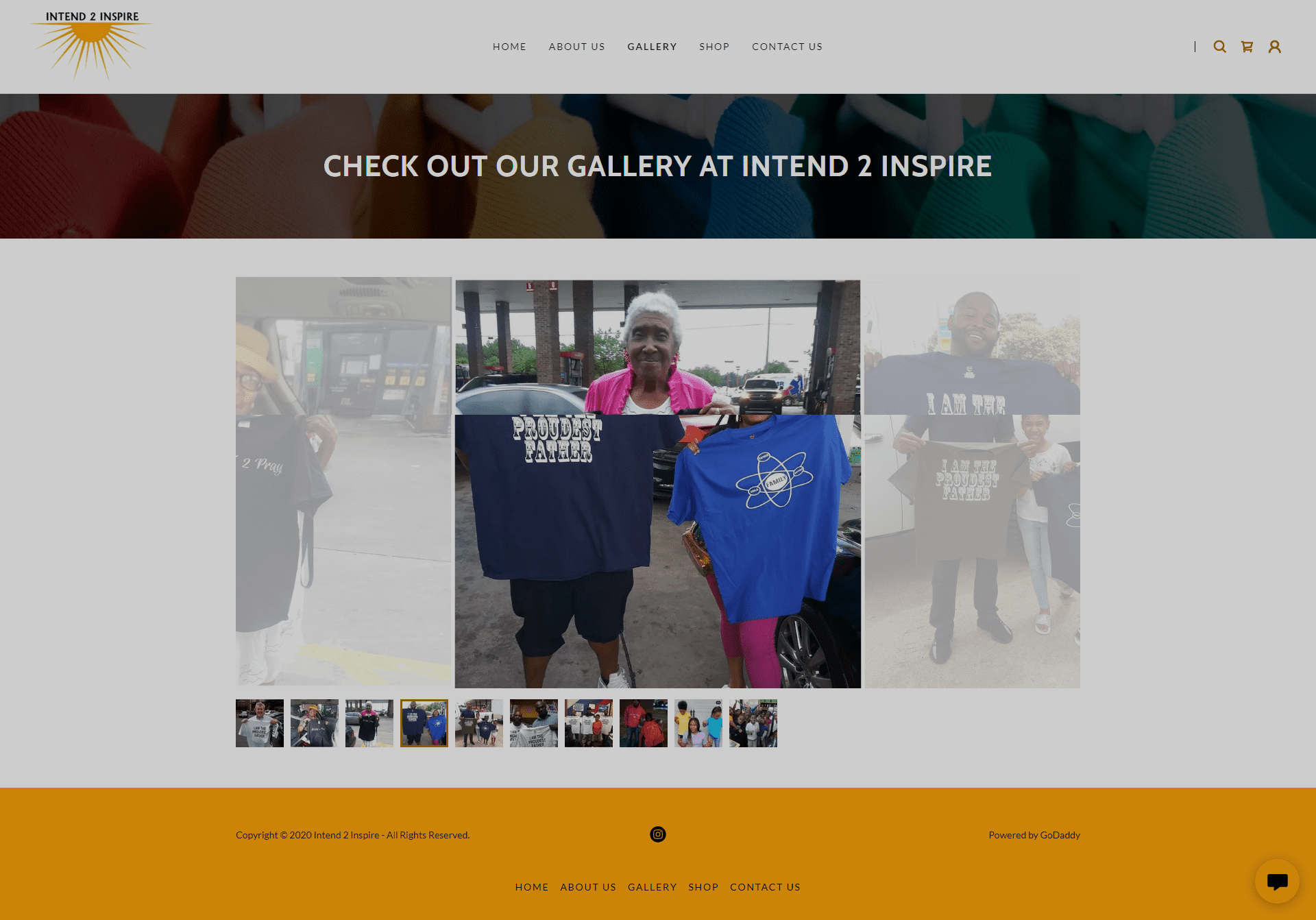 Intend 2 Inspire Gallery Page