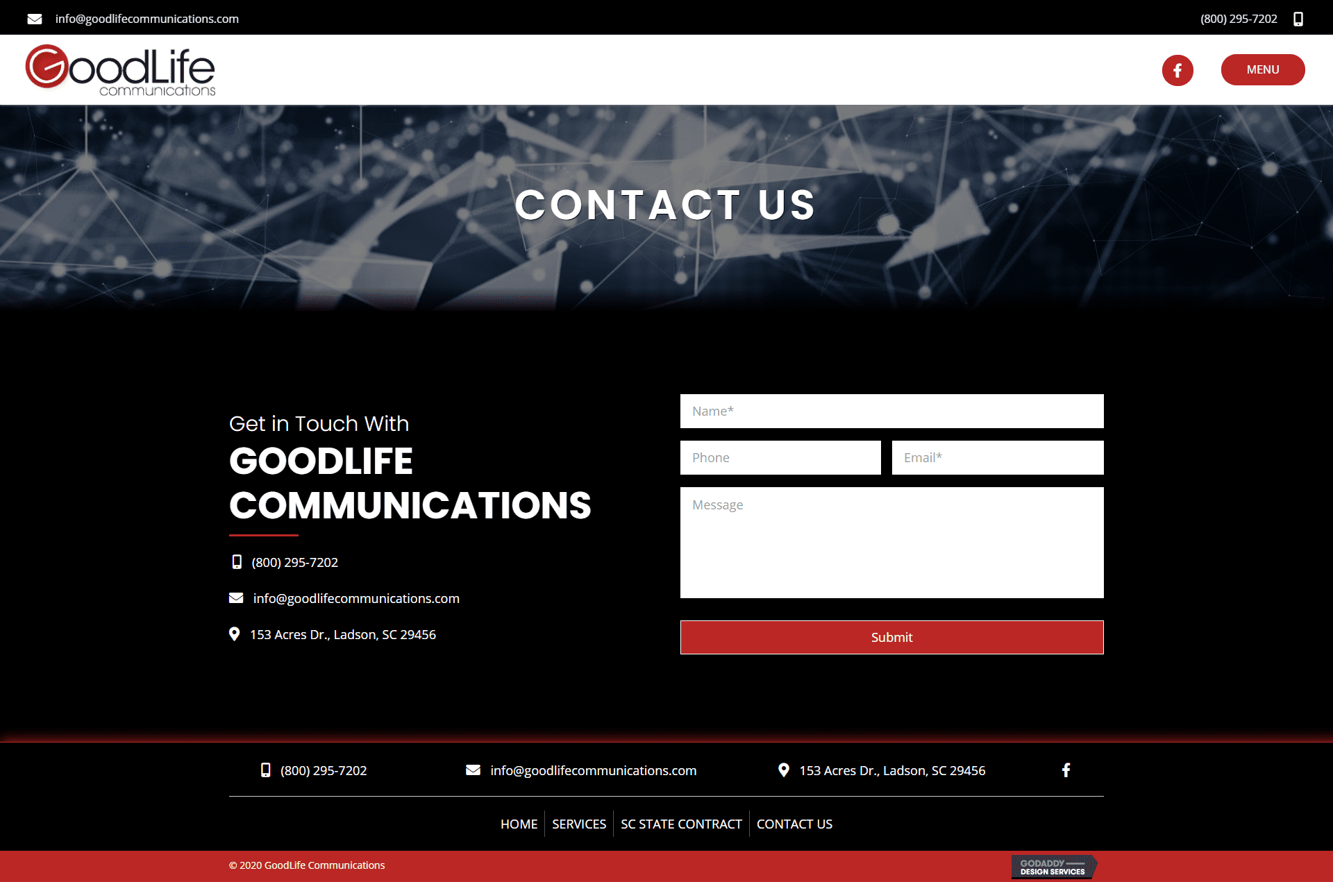 GoodLife Communications Contact Page
