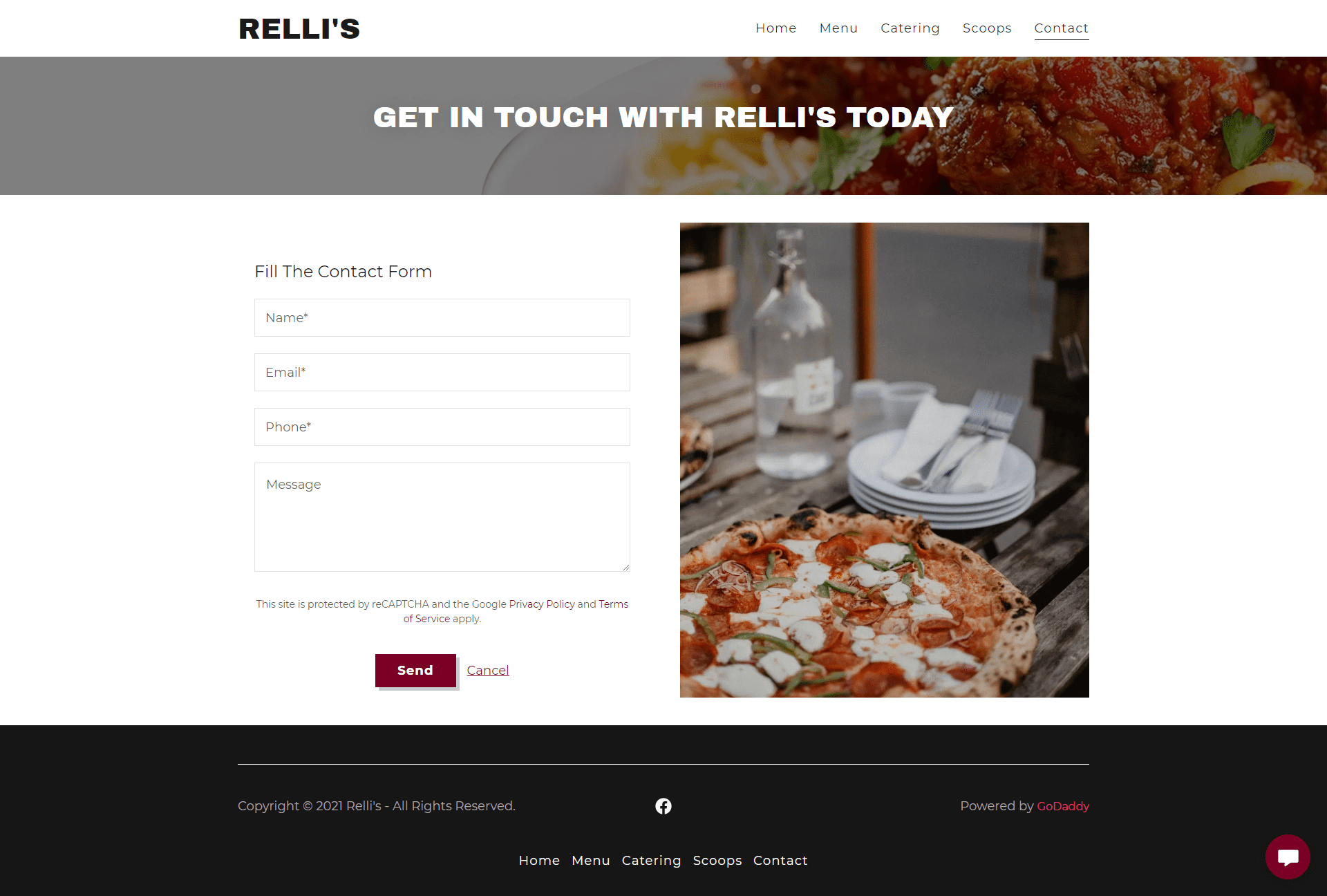httpsrellis.godaddysites.com contact