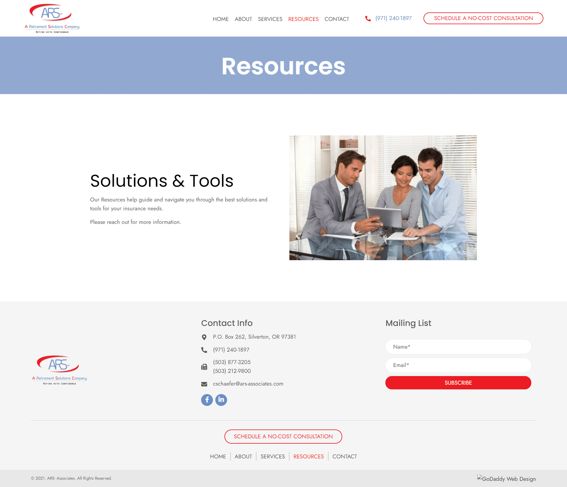 ARS- Associates Resources
