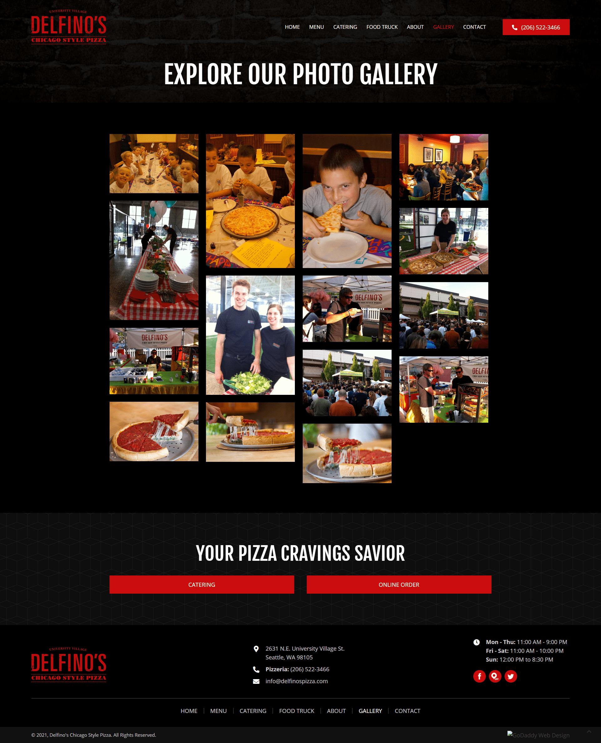Delfino's Chicago Style Pizza Gallery