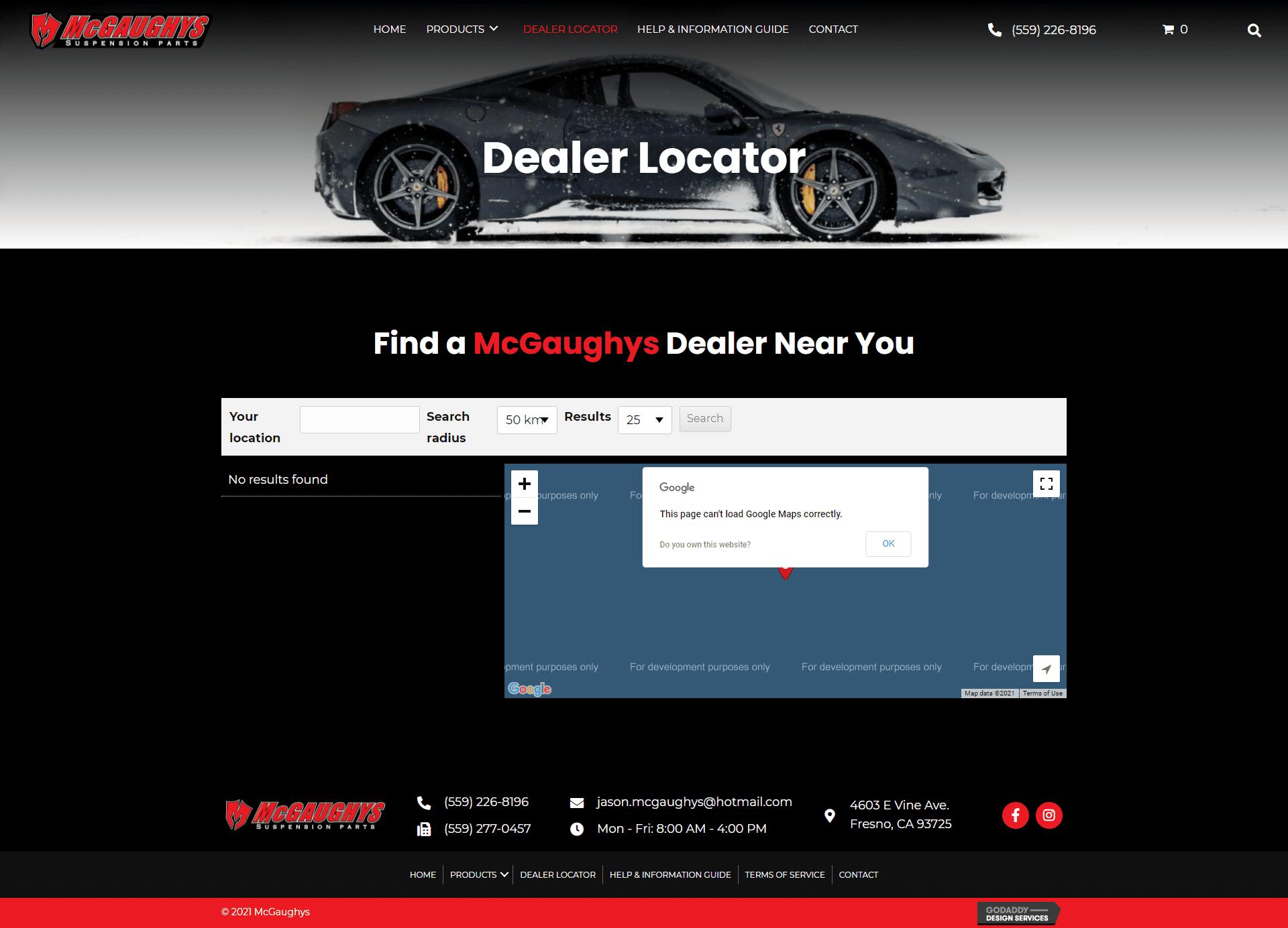 McGaughys Dealer