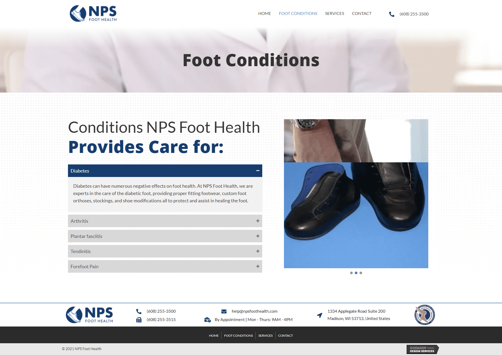 NPS Foot Health Foot Conditions