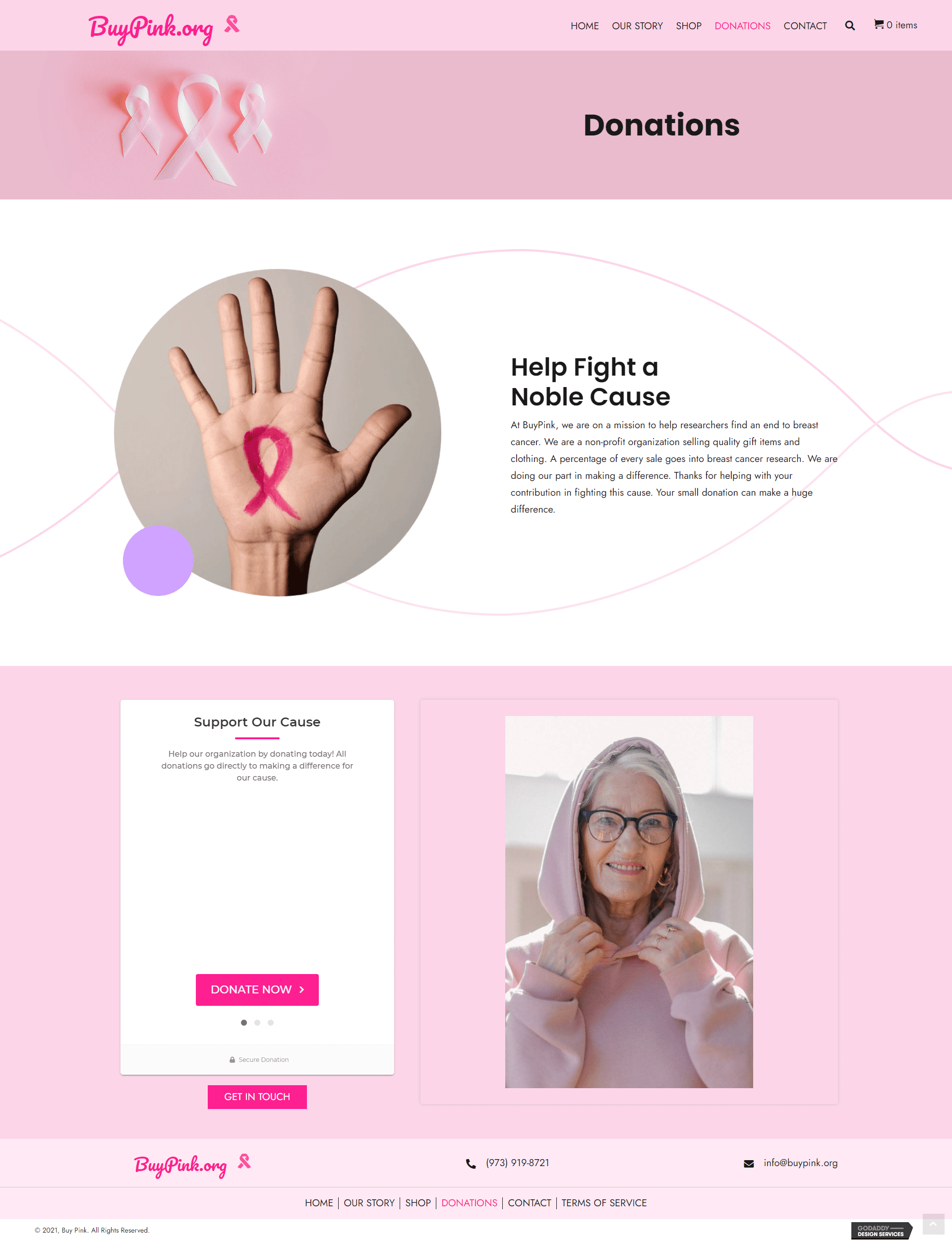 Buy Pink Donations