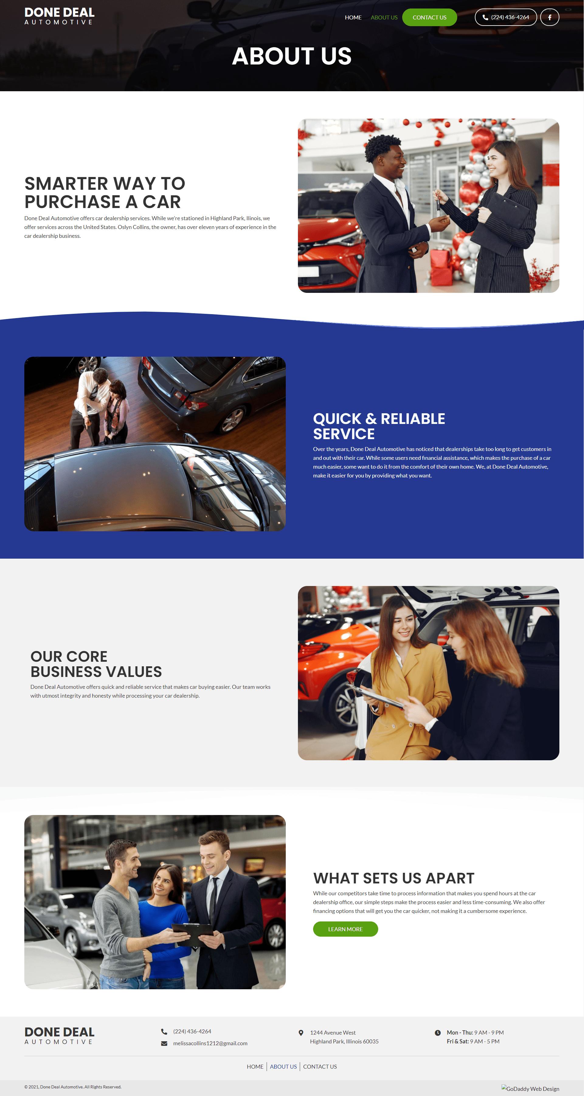 Done Deal Automotive About