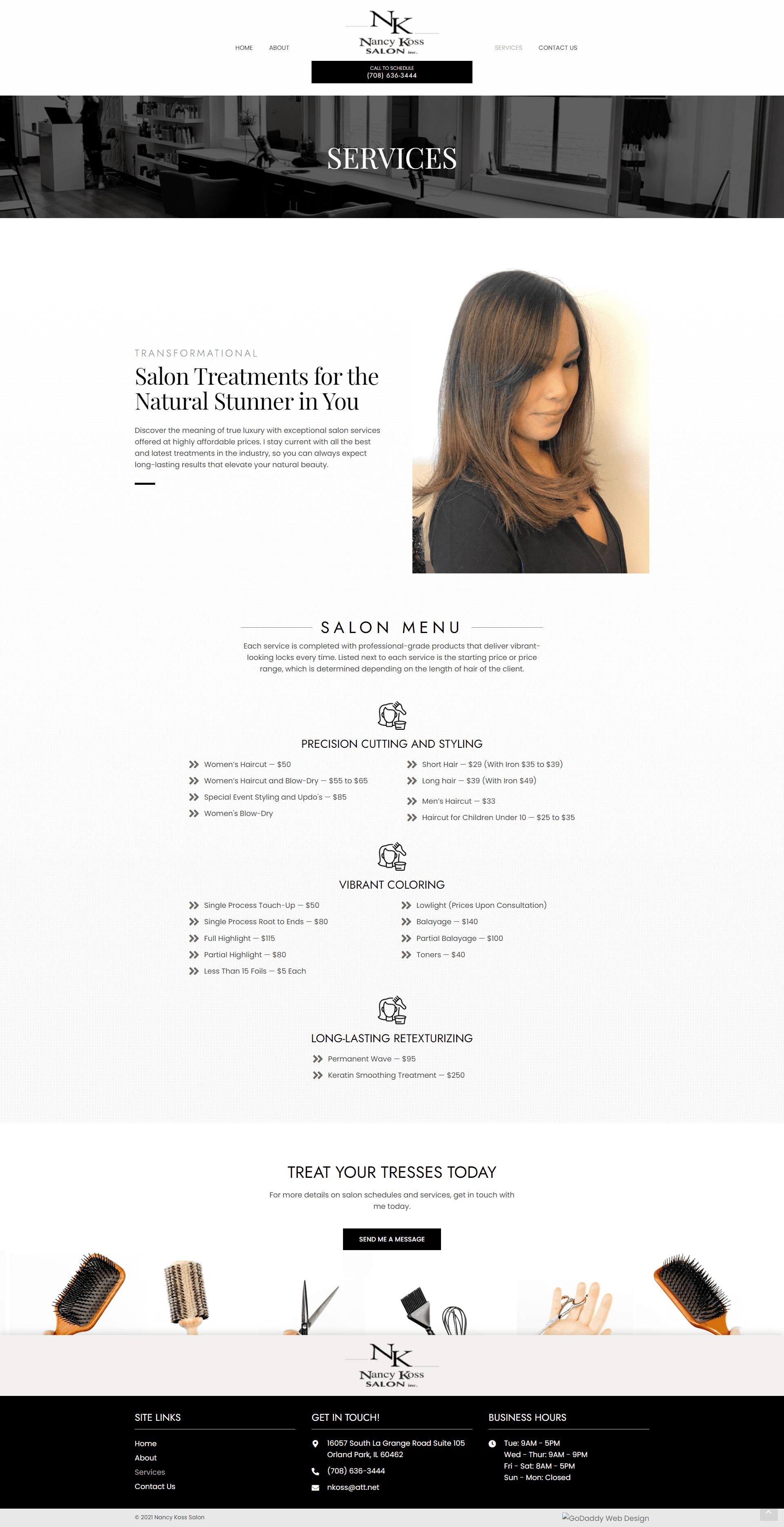 Nancy Koss Salon Services