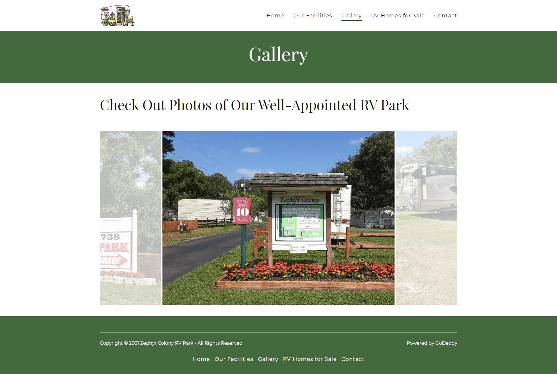 Zephyr Colony RV Park Gallery