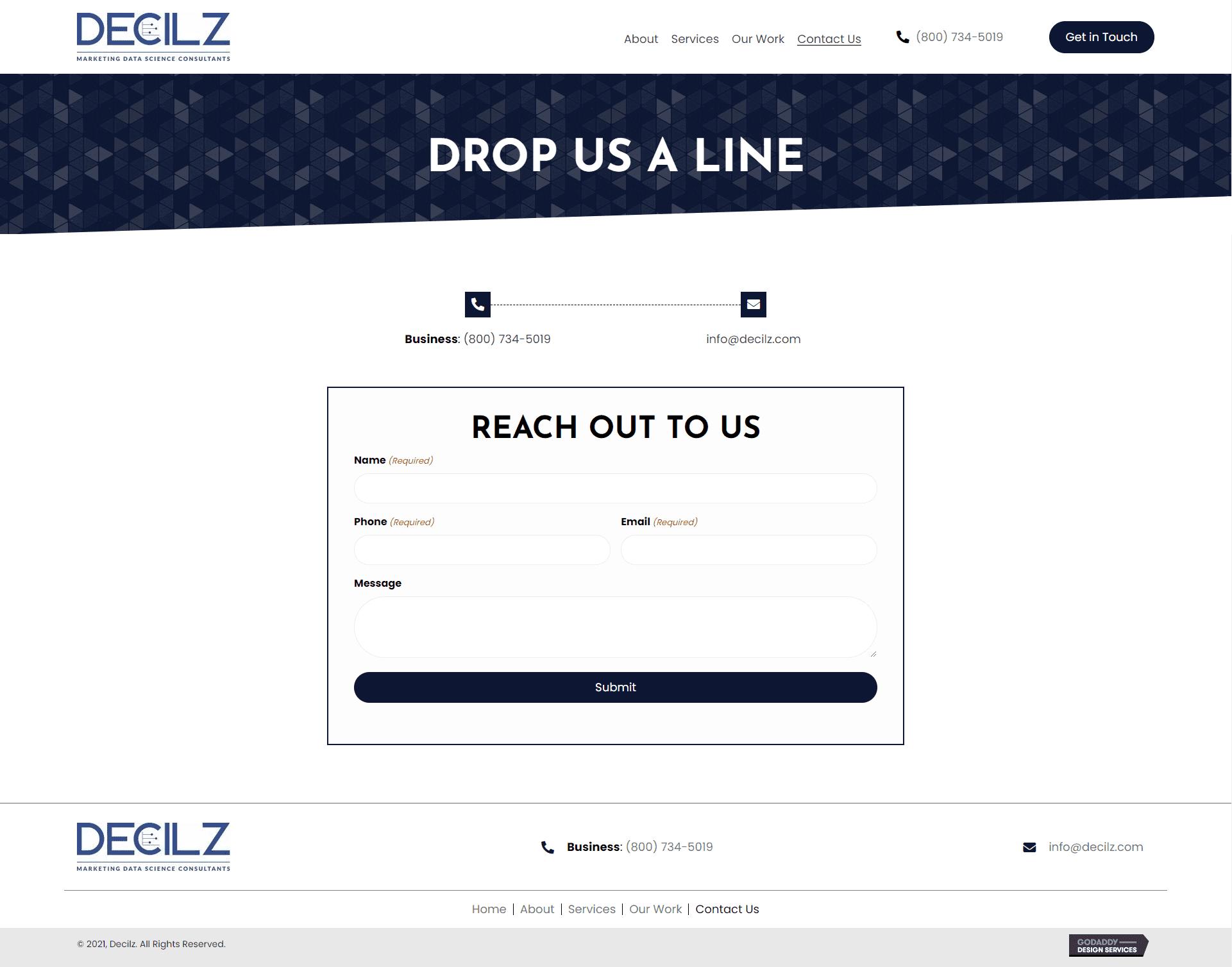 Decilz Contact