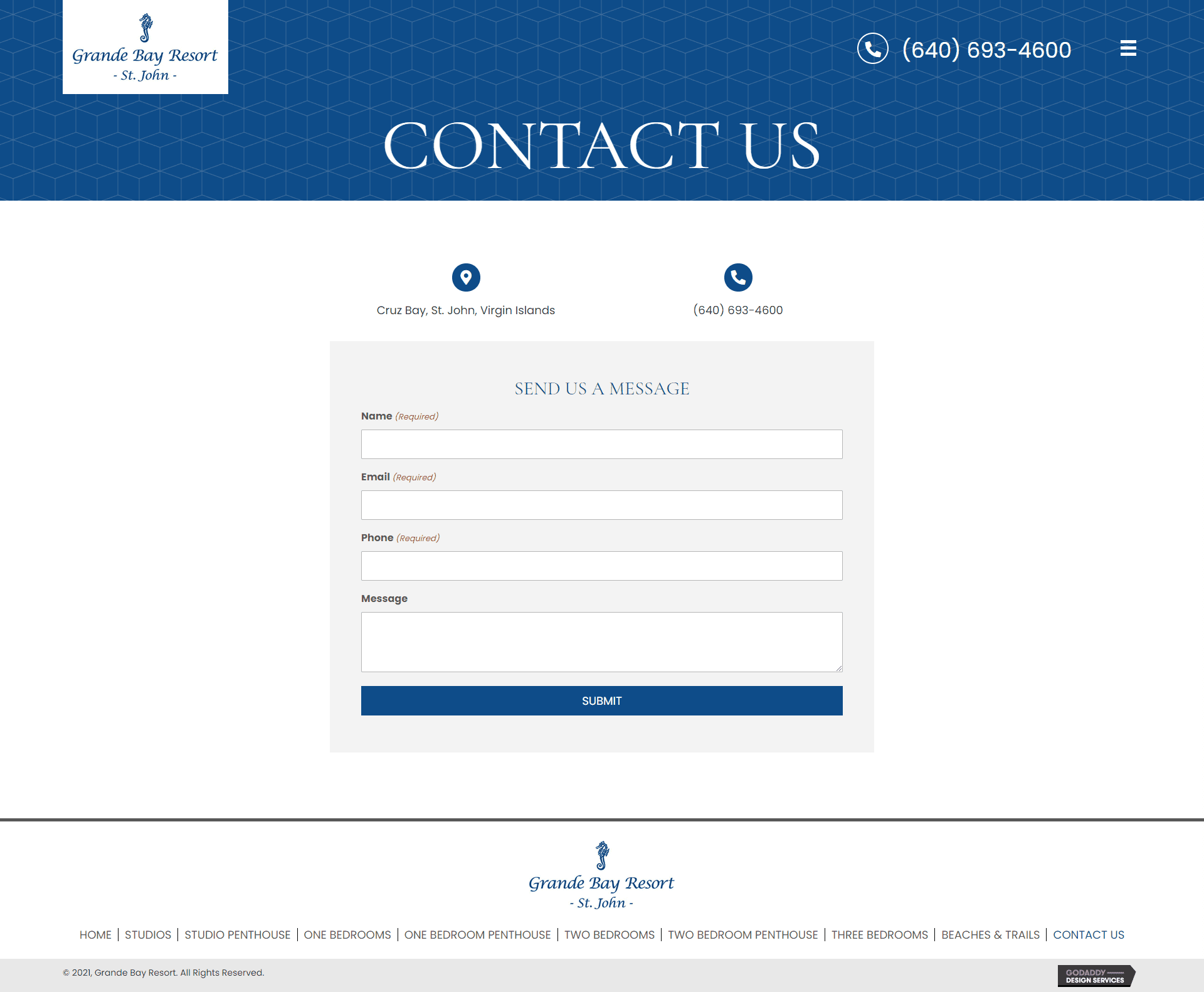 Grande Bay Resort Contact