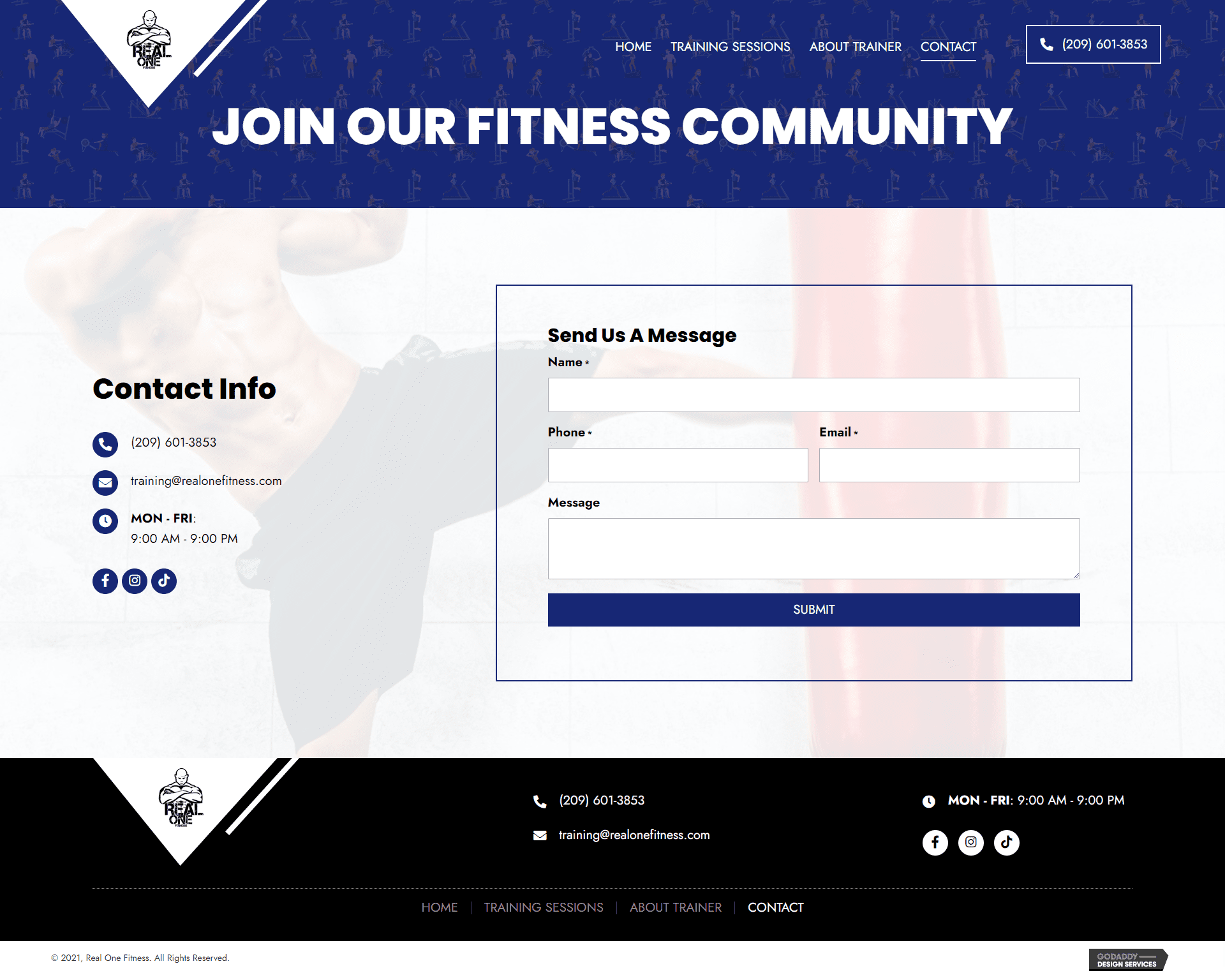 Real One Fitness Contact