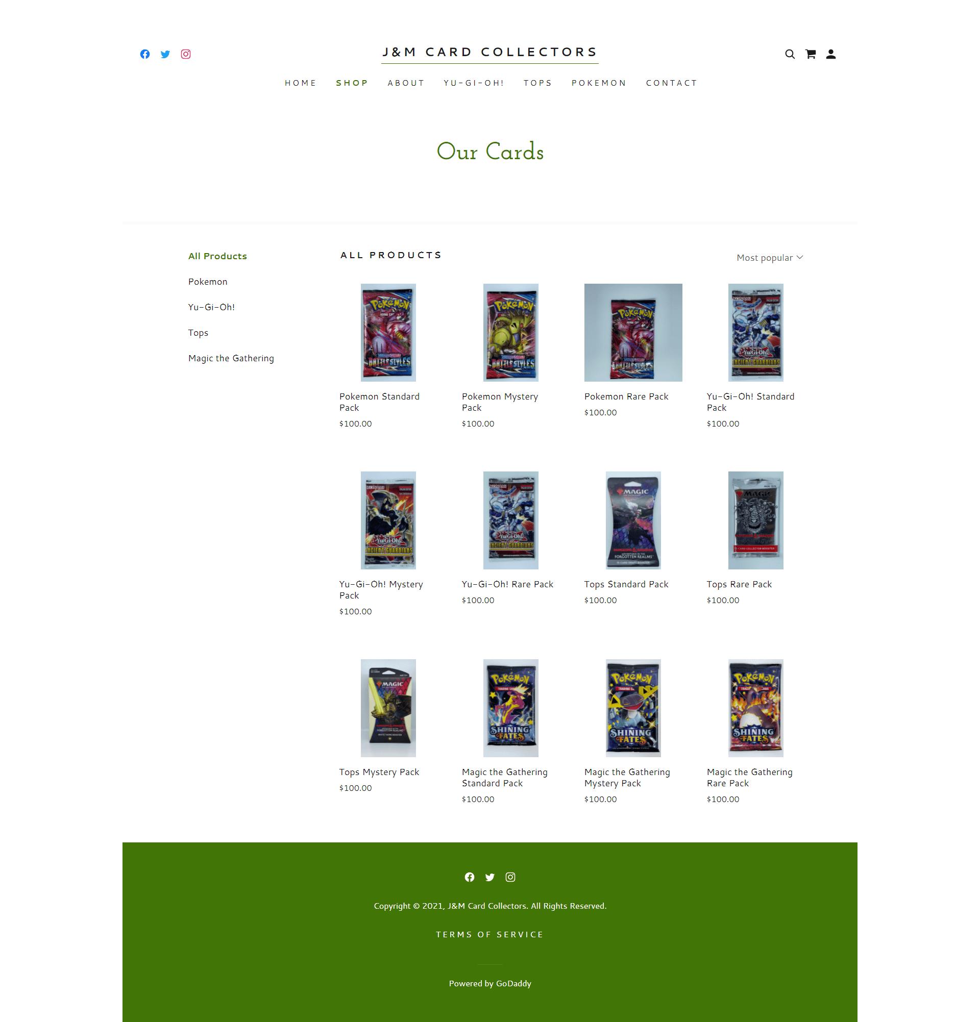 J&M Card Collectors Shop