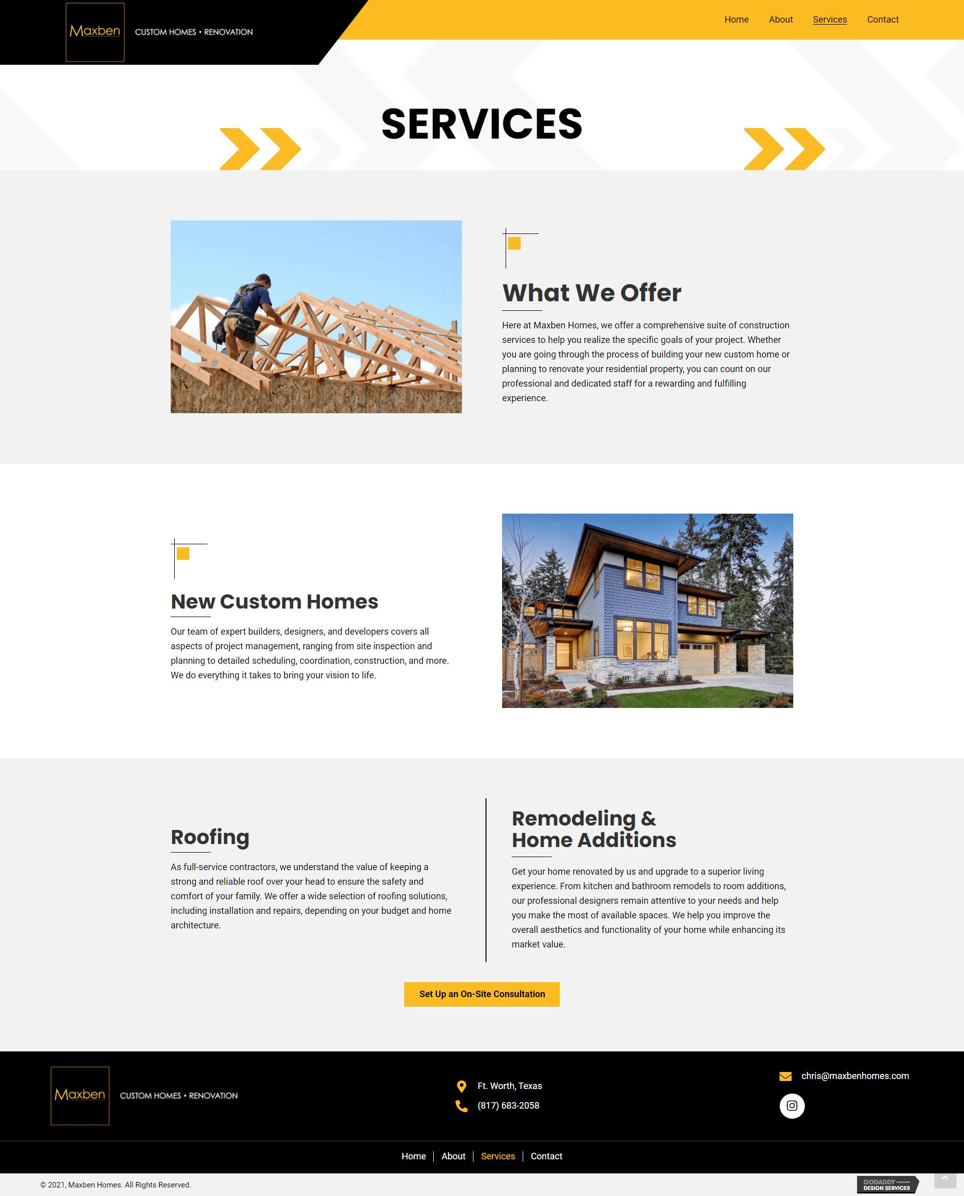 Maxben Homes Services