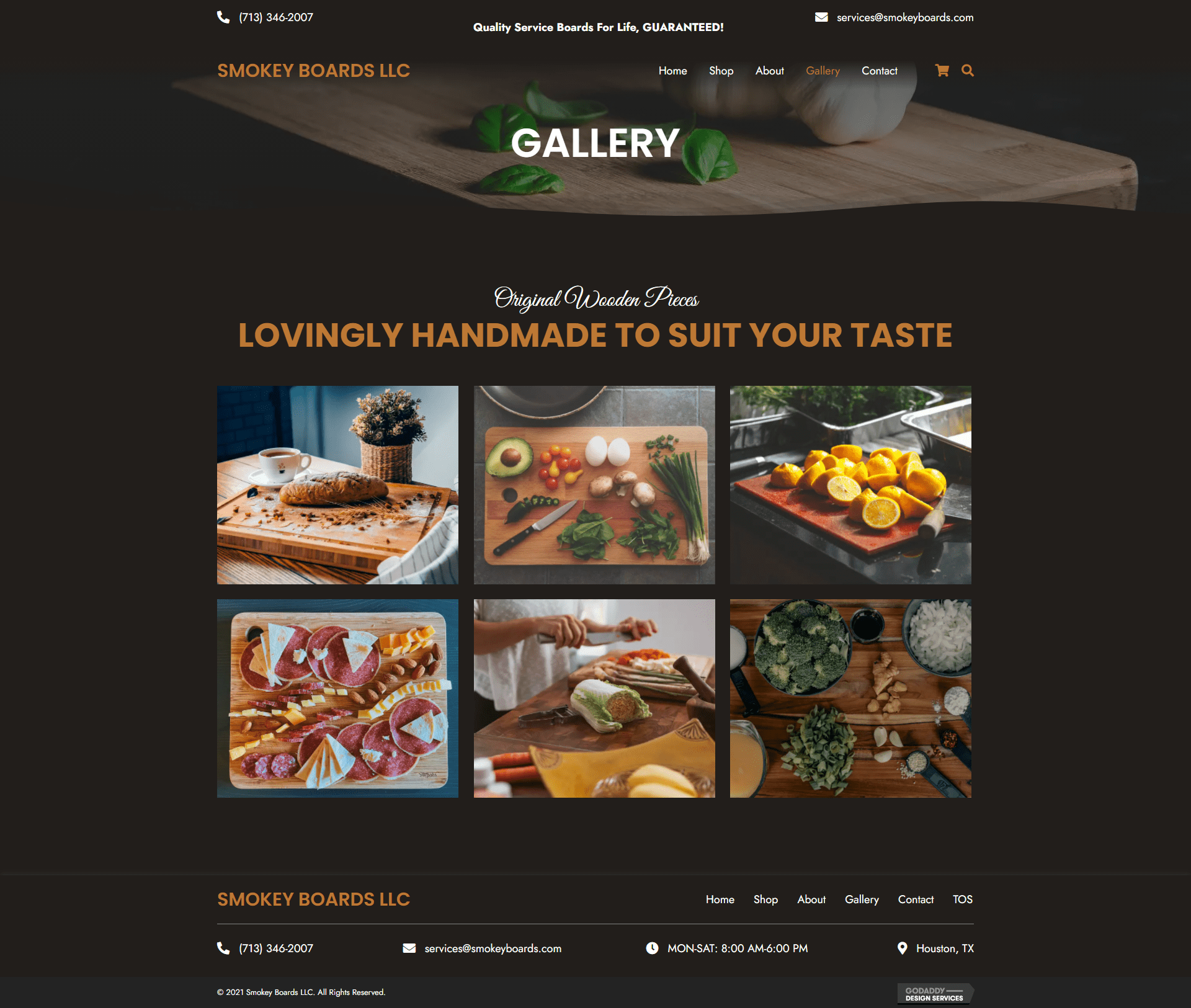 Smokey Boards LLC Gallery