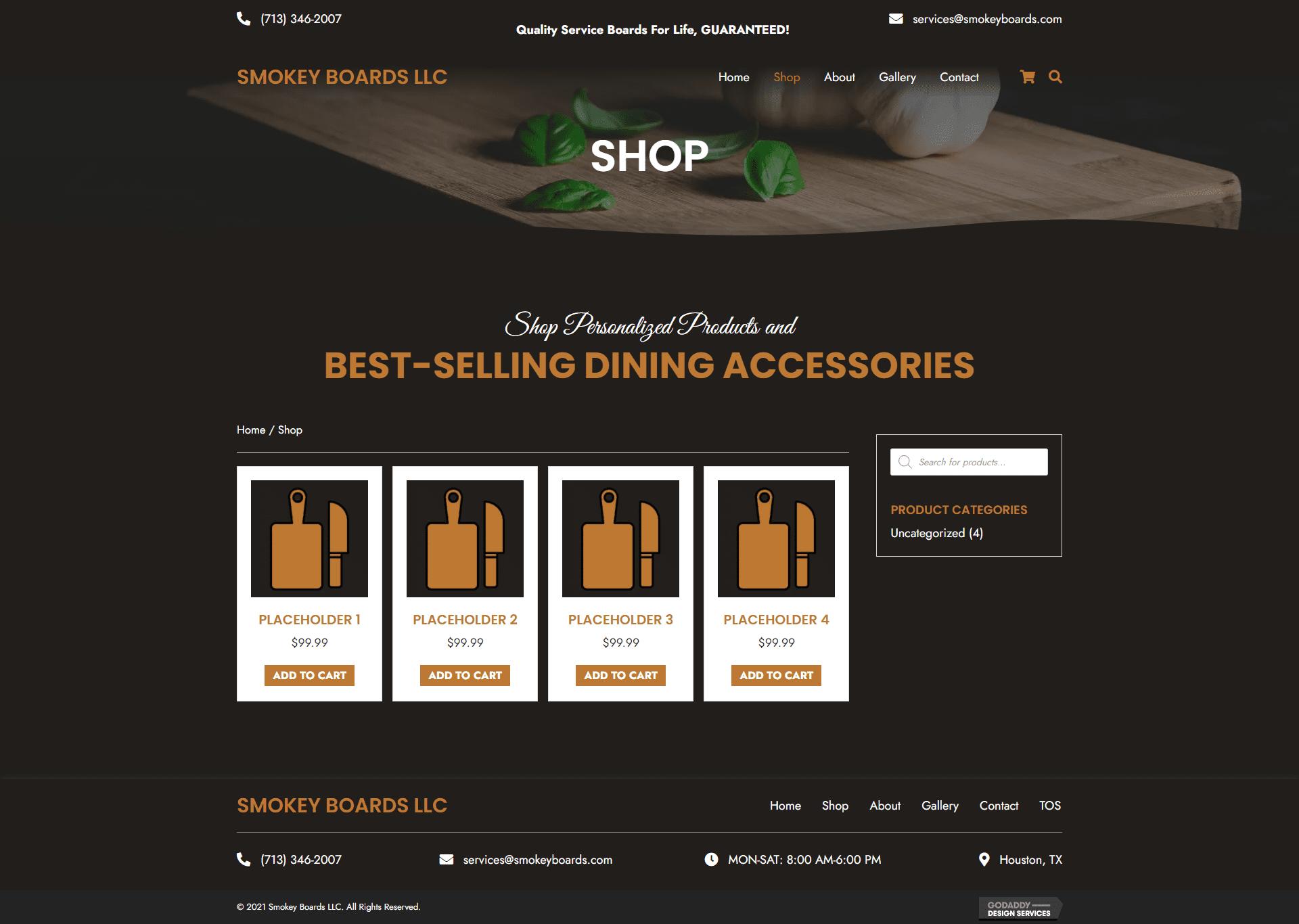 Smokey Boards LLC Shop